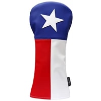 texas golf club head cover premium hand made leather lone star design headcovers tx pride styled
