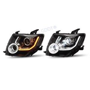 Full Led Headlight for Mitsubishi Pajero V93 V97 V87 Front Lights for Montero V95 V98 Led Drl Lamps for Shogun Dynamic Turning