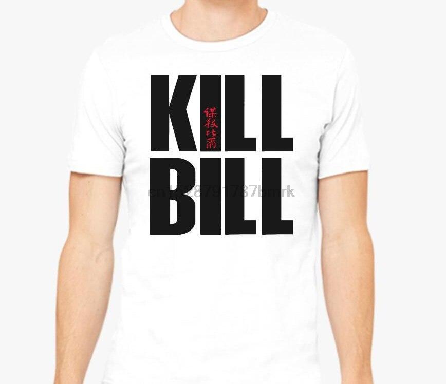 Camiseta Kill Bill para hombre, camiseta para mujer, Camiseta 100% de algodón con estampado divertido, camiseta de manga corta con cuello redondo
