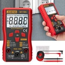 M118A multimètre numérique tension ca/cc compteur de courant NCV testeur compteur de capacité gamme automatique intelligente