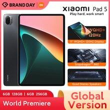 בכורה עולמית הגלובלי גרסת Xiaomi כרית 5 11 ''WQHD + 120Hz תצוגת Snapdragon 860 4 סטריאו רמקולים 8720mAh MI לוח 5