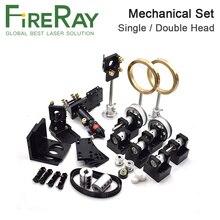 Fireray Co2 Laser pièces métalliques Transmission Laser tête ensemble composants mécaniques pour bricolage CO2 Laser gravure découpeuse