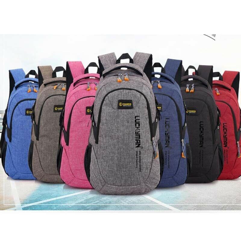 NoEnName-Null deportes impermeable viaje al aire libre equipaje mochila senderismo Camping mochila hombres mujeres Unisex bolso de la escuela bolso