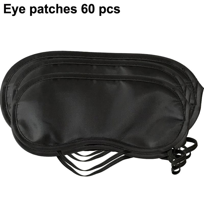Eye patches 60 pcs hotel rooms disposable Sleep mask blindfold for eyes aviation eye mask shading  Sleeping eye mask Wholesale