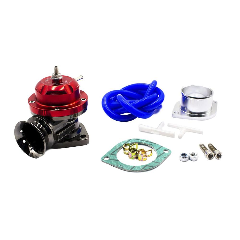 Universal type-rs turbo sopro fora da válvula ajustável 25psi bov sopro despejo fora adaptador de liga de alumínio