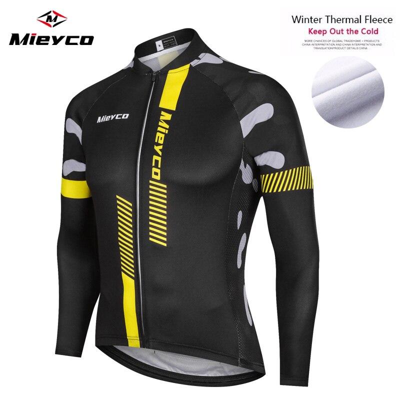 Jersey térmico de lana para Ciclismo para hombre, ropa de manga larga...