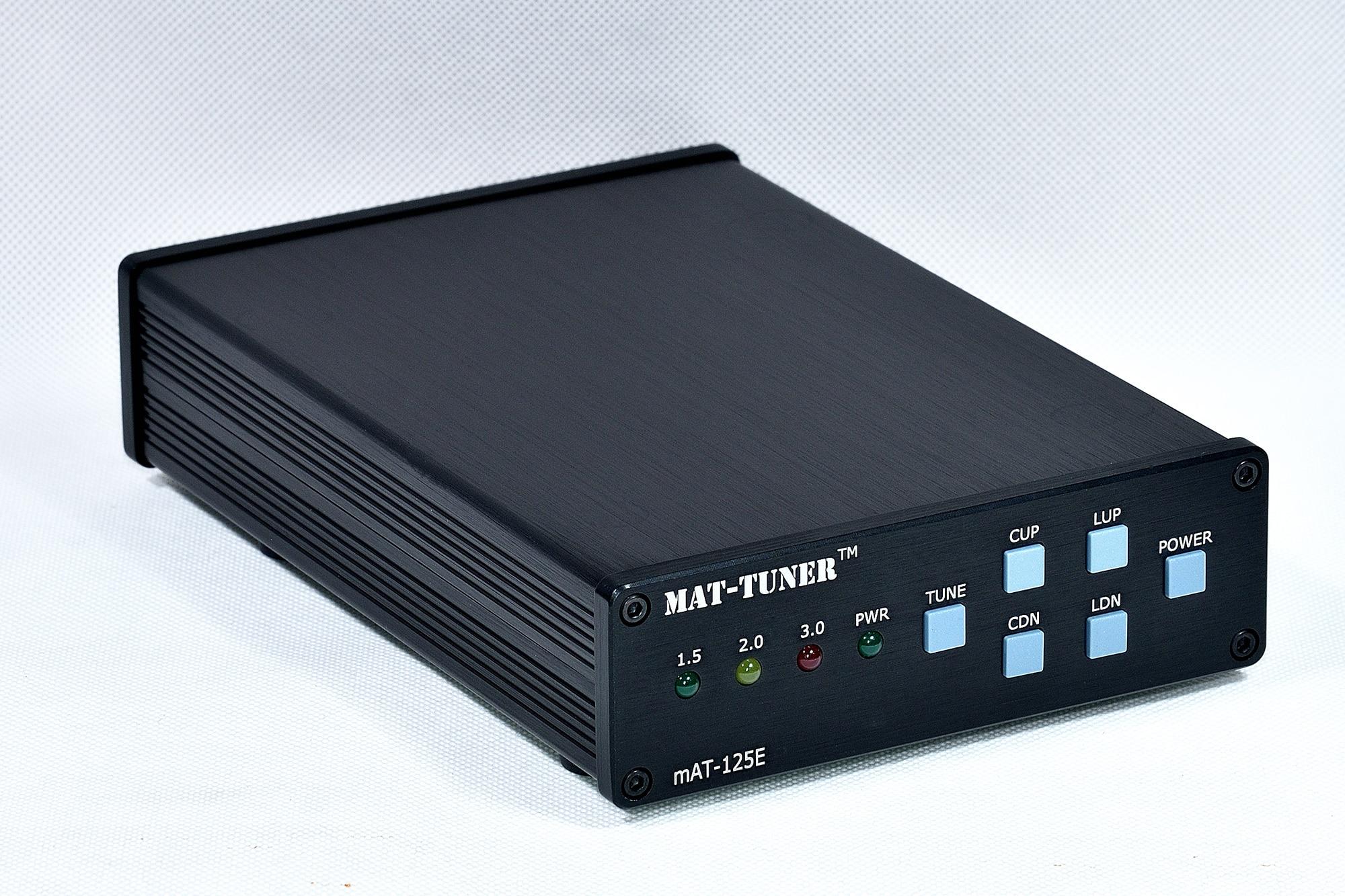 المغناطيسي عقد النسخة Mat-125E العام التلقائي هوائي موالف 120W 1.8-54MHz HF الموجات القصيرة المدمج في 18650 بطارية