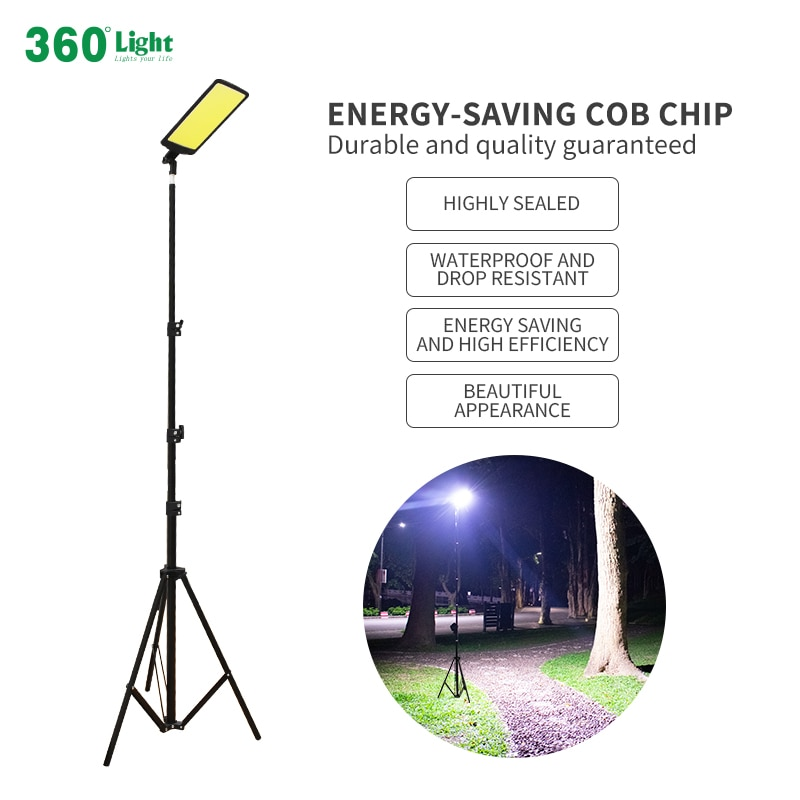 360light Portable LED camping light rechargeable car lights for drive travel Night fishing outdoor LED camping garden lighting enlarge