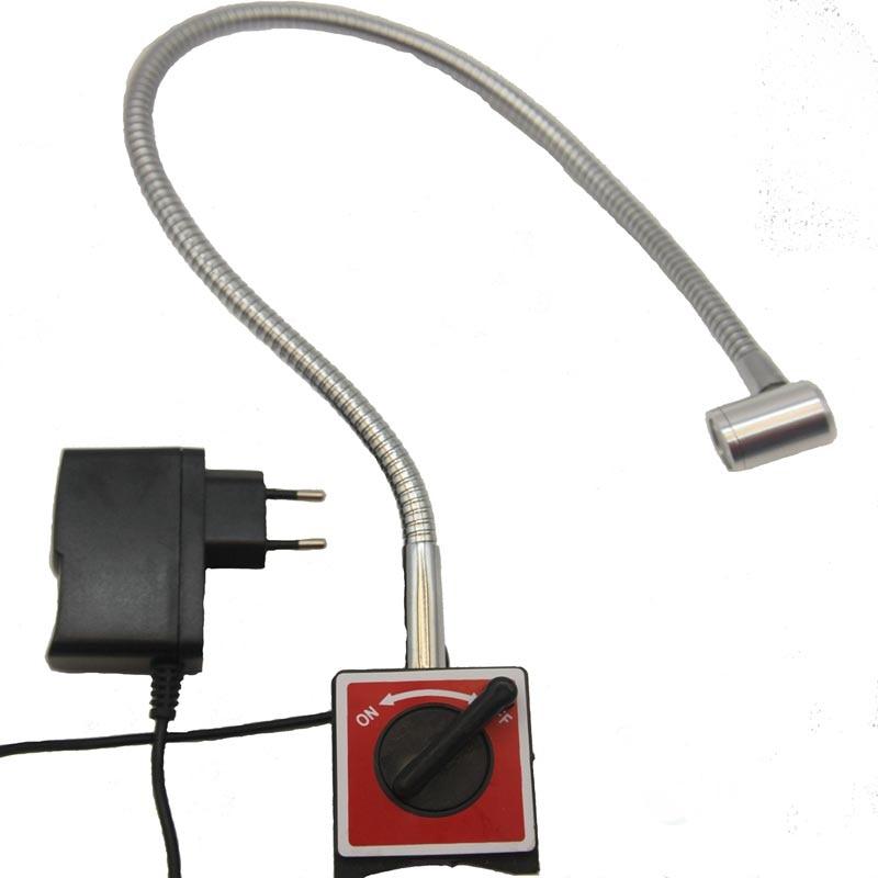 110V 220V 1W GOOSENECK LAMP MAGNETCI BASE LED