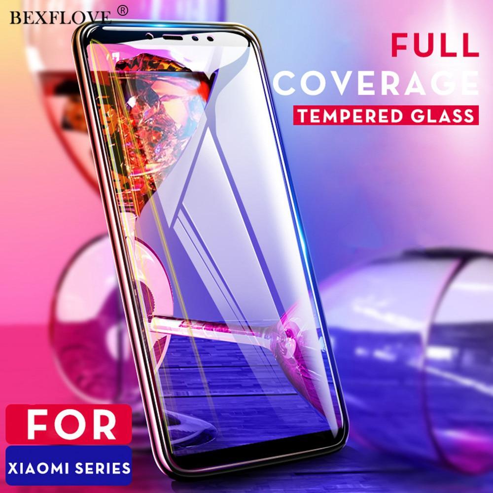 Vidrio Templado 9D para Xiaomi pocofone F1 vidrio mi A2 Lite Protector de pantalla para Xio mi Redmi 5 Plus Note 6 Pro mi A2 Max 3 Film5D