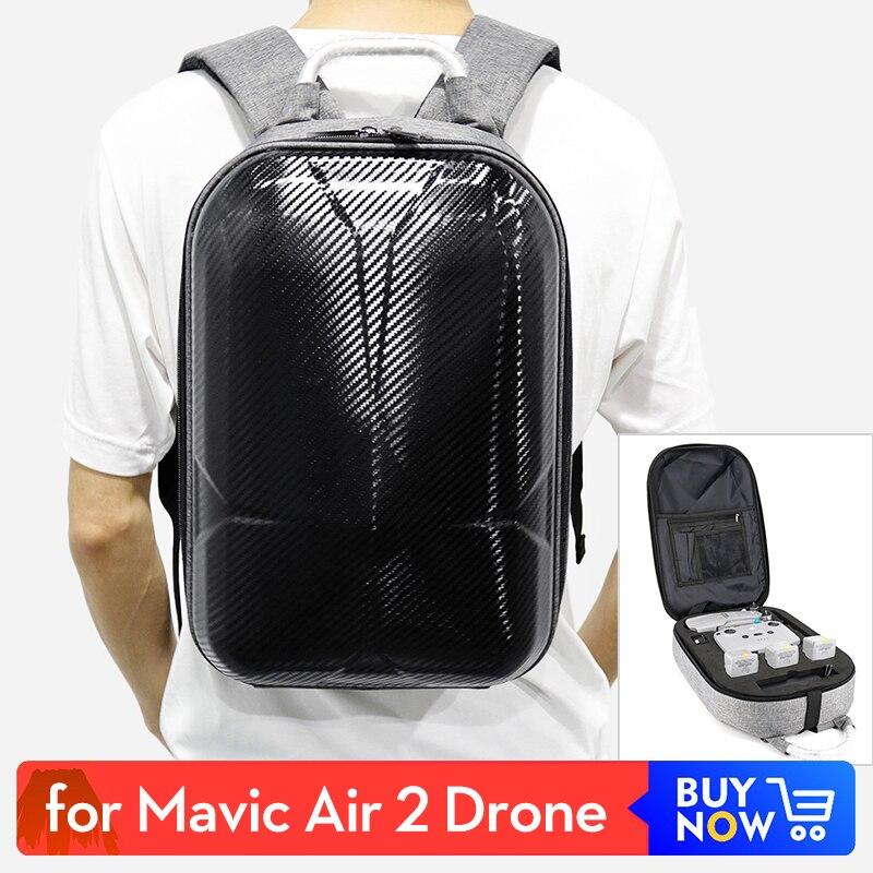 Mochila para DJI Mavic Air 2 estuche rígido bolsa de transporte mochila bolsa impermeable Dron bolsa Anti-choque estuche protector para almacenamiento