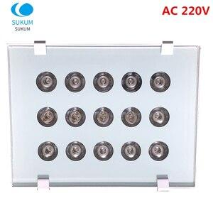 AC 220V CCTV 15 Array LEDS IR illuminator infrared Lamp IR Light Outdoor CCTV Fill Light Night Vision for CCTV Camera