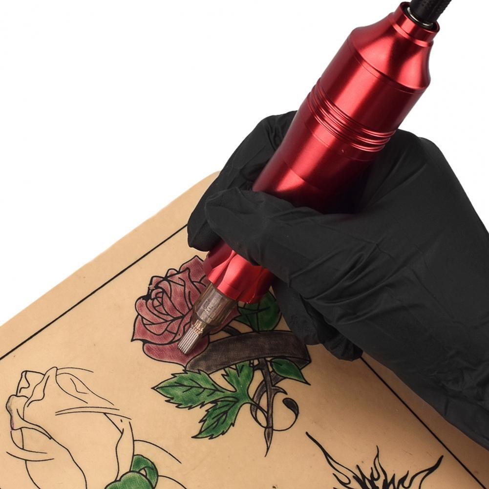 Hot Sales!! Rotary Tattoo Tool Ergonomic Grip Lightweight Stainless Steel Tattoo Pen Cartridge Machine for Body Art