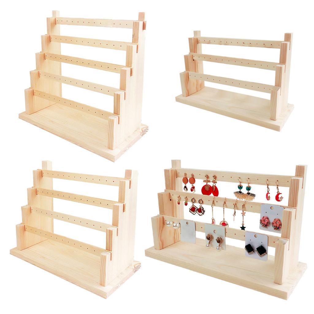 Подставка-для-деревянная-серьга-держатель-для-серег-демонстрация-ювелирных-изделий-Многоуровневая-упаковка-ювелирных-изделий