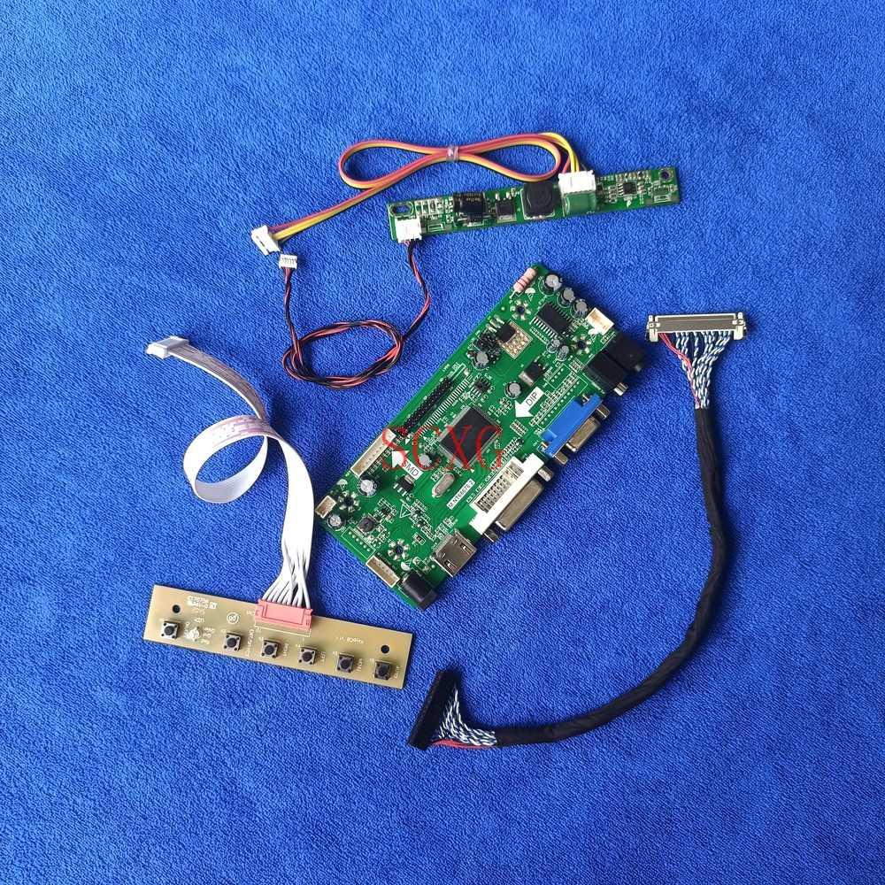 DVI VGA HDMI-متوافق مع مجموعة أدوات الشاشة LED LCD صالح LM185WH2-TLA1/TLC1/TLD1/TLE1/TRA1/TRA2 30Pin LVDS M.NT68676 محرك المجلس 1366*768