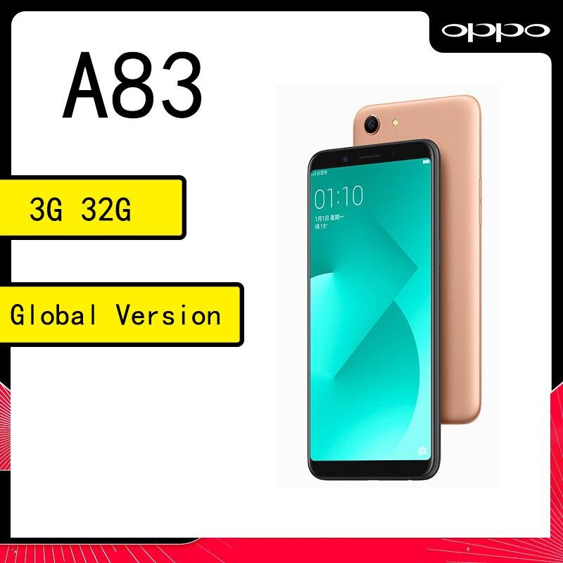 celular oppo A83 smartphone 3 32GB MediaTek MT6763T 5.7inches  1440*720 pixels refurbished
