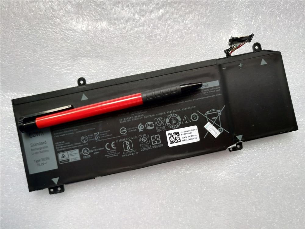 Batería para ordenador portátil, 1F22N para ALIENWARE año 2018 ORION M15 G5 15 5590