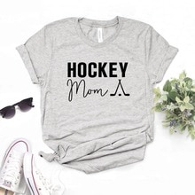 Hockey maman imprimer femmes t-shirts coton décontracté drôle t-shirt pour dame Yong haut t-shirt Hipster 6 couleurs NA-816
