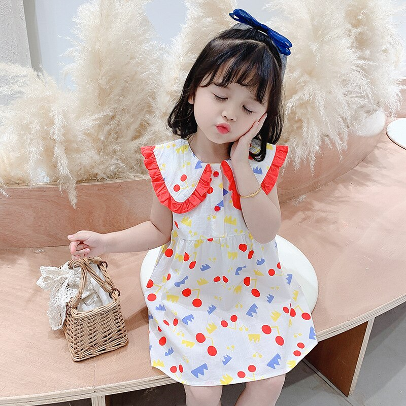 Vestido Infantil de verano para niñas, vestidos infantiles para niñas