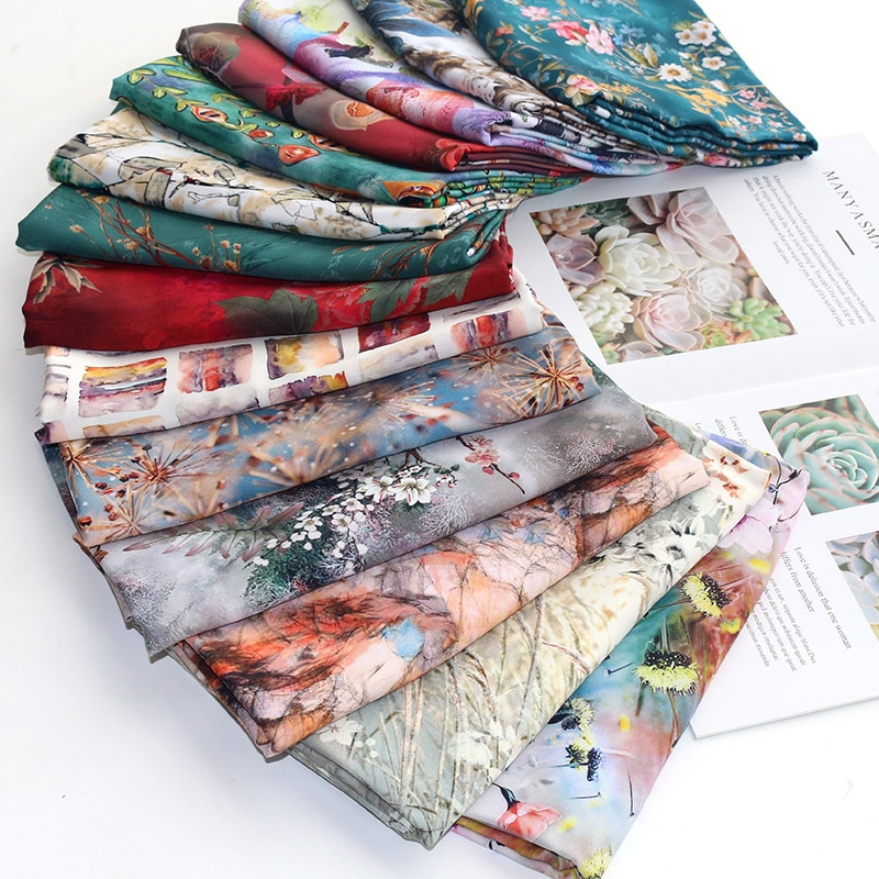 Фото - Cotton Fabrics Brocade Fabric Cotton Blends plain weave printing and dyeing rural Floral soft cozy multiple colour 35-1 подушка cozy cotton