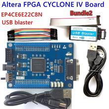 FPGA ALTERA geliştirme çekirdek kurulu kiti CYCLONE IV EP4CE EP4CE6E22C8N kurulu Blaster usb jtag Örnek kod SCH