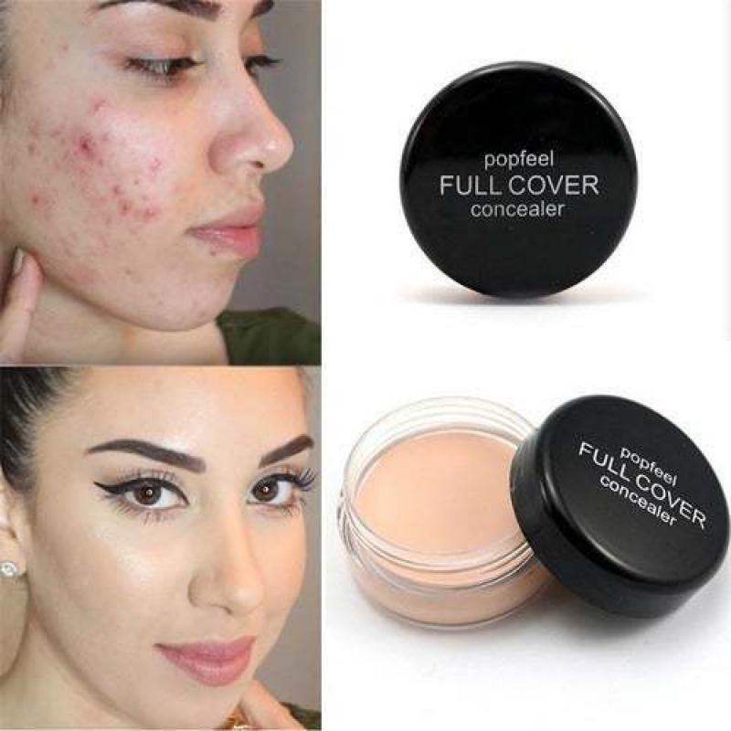Hide Blemish Face Eye Lip Cream Concealer Makeup Foundation Professional Full Cover Contour Base Make Up Concealer Cream Hot недорого