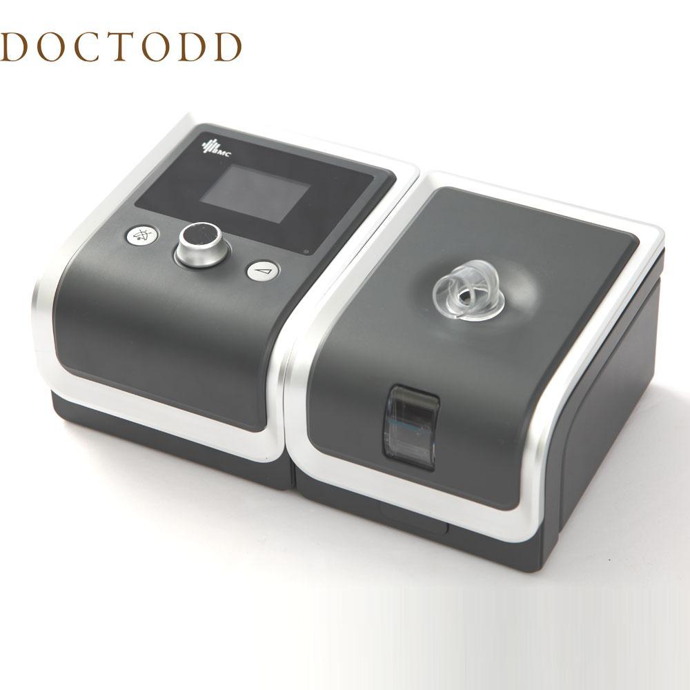 BMC RESmart السيارات CPAP معدات طبية لتوقف التنفس أثناء النوم هزاز مكافحة الشخير التنفس الصناعي مع الملحقات المرطب سيارة السفر