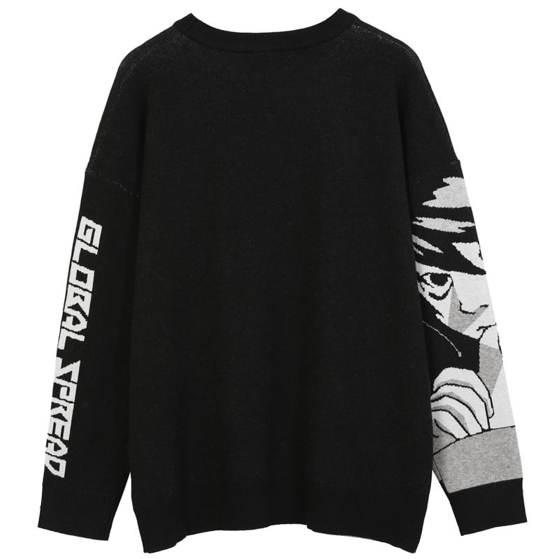 Vyriški hiphopo gatvės drabužiai, harajuku megztinis, senovinis - Vyriški drabužiai - Nuotrauka 2