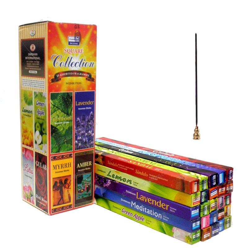 Ароматические палочки, 25 ароматов, 170 шт./набор