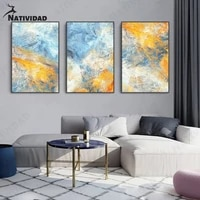 korean color abstract modern canvas painting art wall art painting art posters aesthetic modern home decoration living room