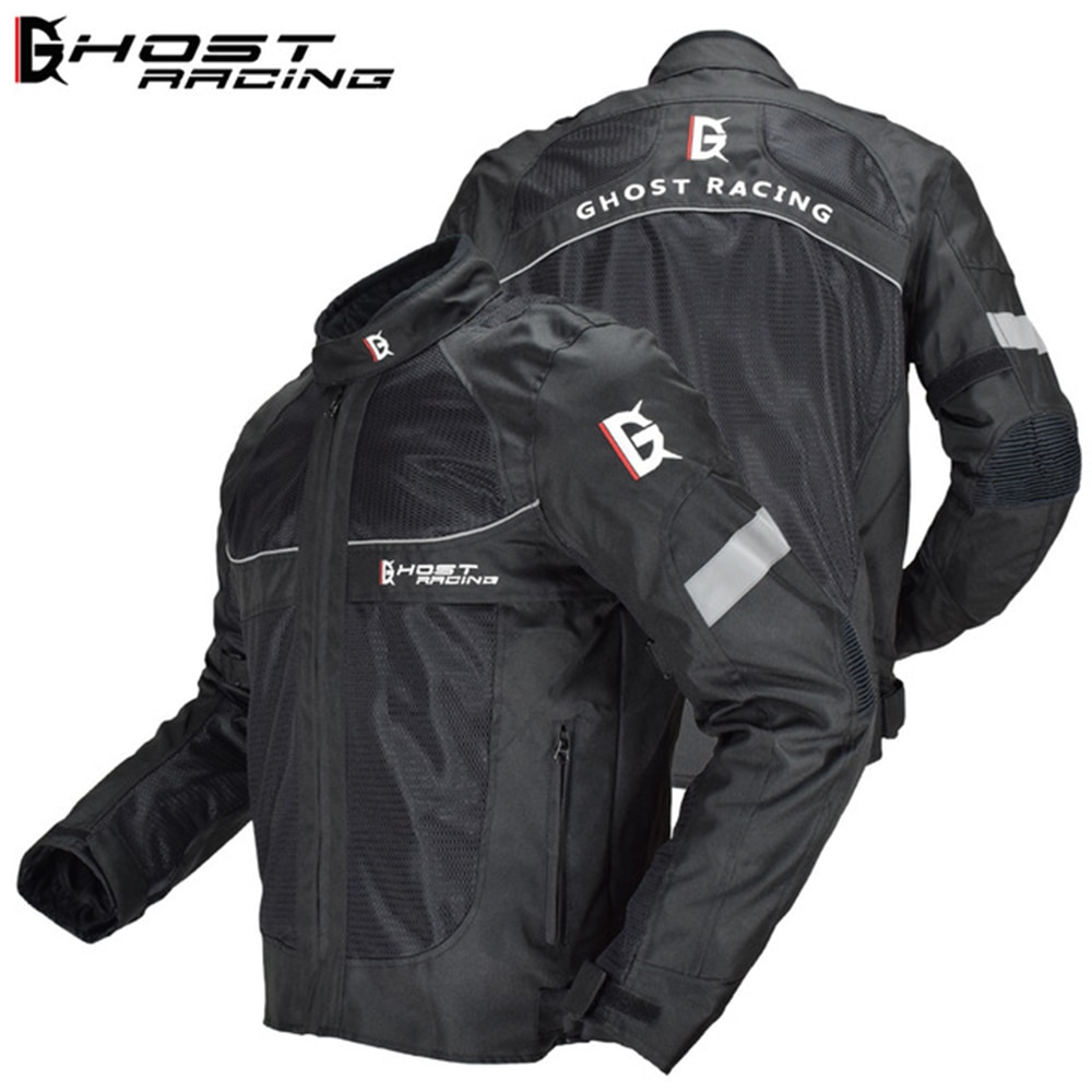 GHOST RACING-سترة سباق الدراجات النارية للرجال ، مقاومة للماء ، معدات واقية للموتوكروس ، حماية خارجية