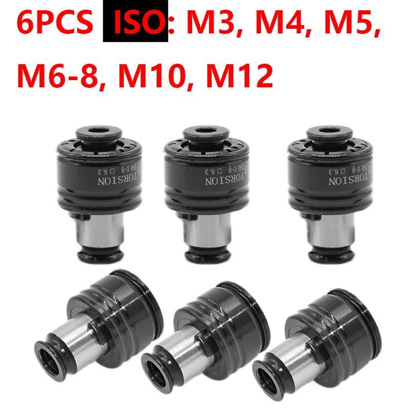 GT12 19 مللي متر ISO/DIN/JIS M3-M12 مجموعة التنصت كوكس الطبطبات الهوائية التنصت آلة الطبطبات مع حماية الزائد