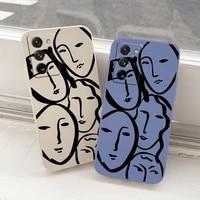 stick figure silicone case for samsung galaxy a72 a52 a42 a32 a22 a21s a02s a12 a02 a71 a51 a41 a31 shockproof soft phone cover