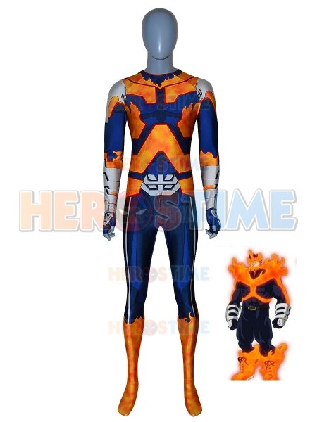 Костюм для косплея bokui no Hero actoria BNHA Zentai, костюм с 3D принтом Todoroki Enji, спортивный костюм из лайкры с героями мультфильмов