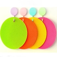 kitchen accessories silicone heat resistant table mat beverage coasters non slip mats table mats kitchen accessories