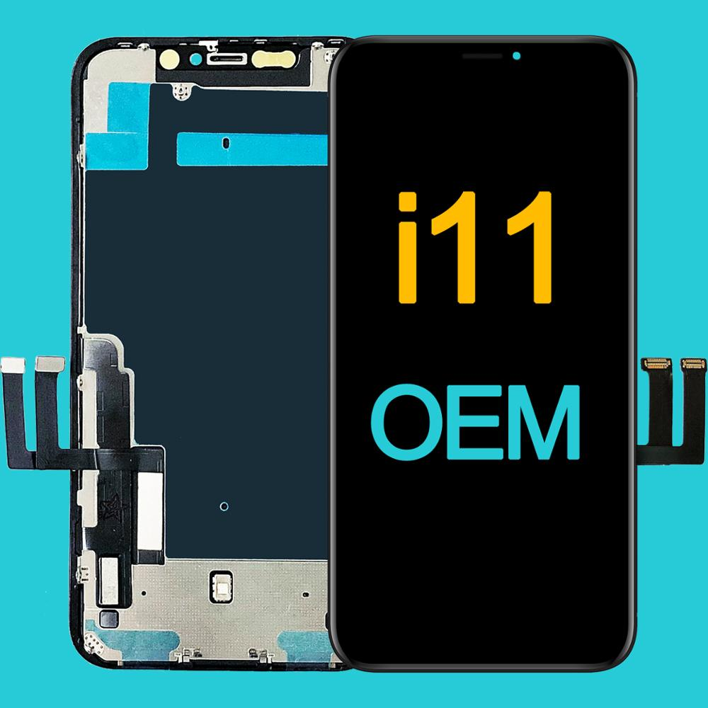 Grade AAA+++ For iPhone 11 LCD OEM Display With 3D Touch Screen Digitizer Assembly Replacement For iPhone11 LCD Retina