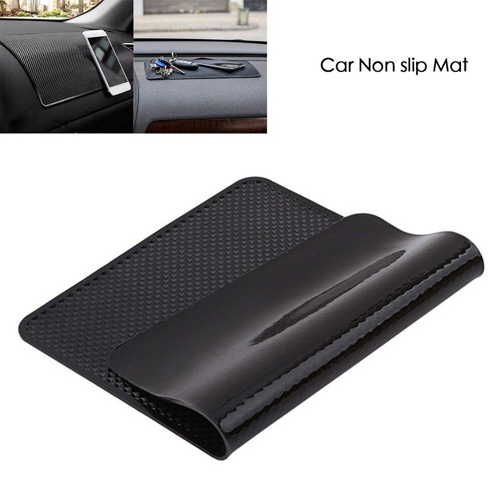 Универсальные автомобильные Нескользящие коврики, автомобильные коврики для хранения телефона, Нескользящие Коврики для автомобиля, сили...