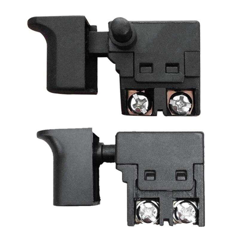 250 فولت 6A الزناد زر التبديل سرعة التحكم الزناد قفل على أدوات بودرة كهربية تستخدم لقطع آلة الكهربائية