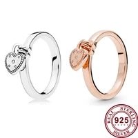 original 925 %d0%ba%d0%be%d0%bb%d1%8c%d1%86%d0%be silver pan ring valentines day love pendant pan ring for women wedding party gift fashion jewelry