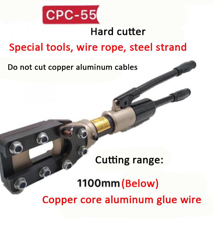 Electric Hydraulic cable shears CPC-40/55 Manual hydraulic wire cutters For Copper core aluminum stranded wire 720/1100mm