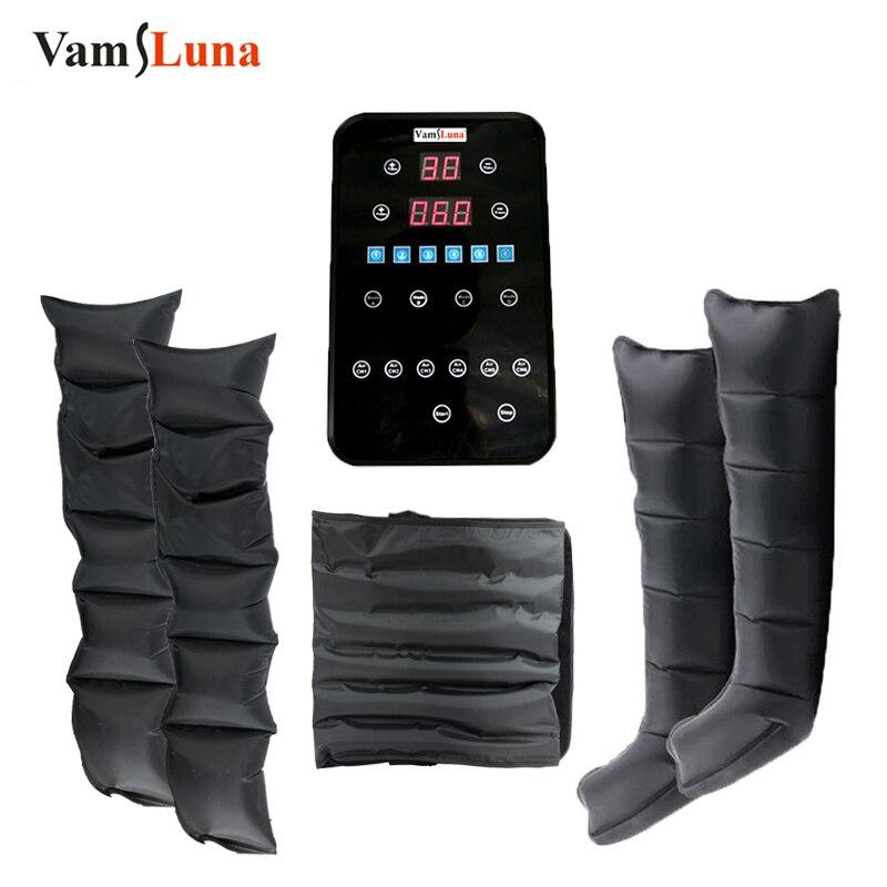 VamsLuna لوحة لمس ذكية 6 غرف معدات ضغط الهواء للجسم كله مدلك