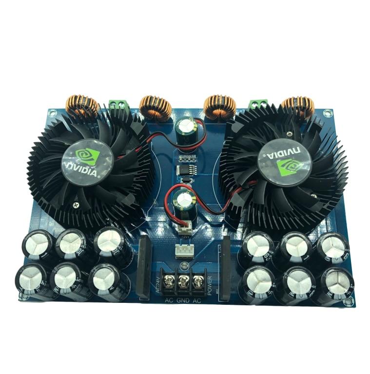 لوحة مكبر صوت رقمية من الفئة D TDA8954TH ، 420 واط * 2 ، طاقة عالية ، ثنائي القناة ، نقية ، مرحلة ما بعد المرحلة ، تيار متردد مزدوج 24 فولت