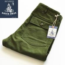 SauceZhan OG107 Utility Fatigue Pants Military Pants VINTAGE Classic Olive Sateen Straight Men Pants Pants & Capris Cargo Pants