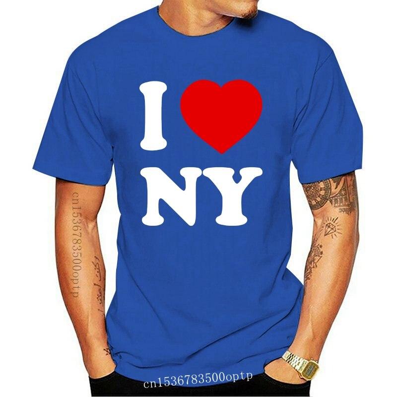 Me encanta Nueva York Hombres Camiseta Divertida (12 Colores) Camiseta de hip...