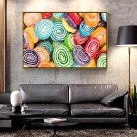 Artcozy     toile de peinture a lhuile bonbons pour decoration de maison  Art mural