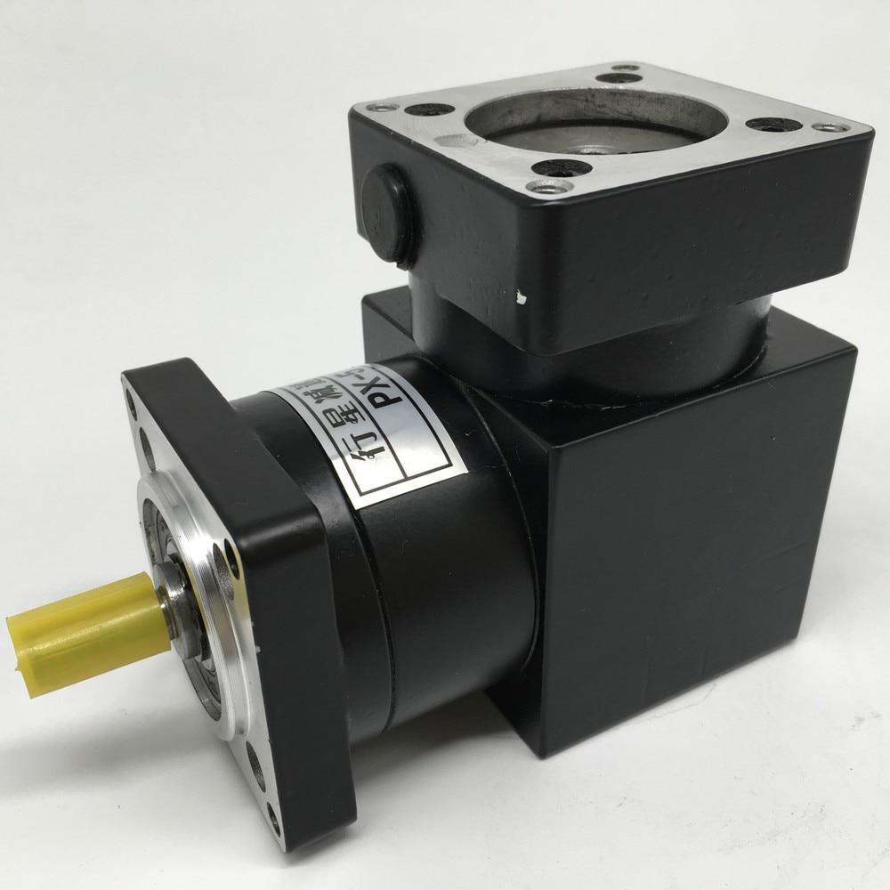 NEMA34 réducteur de vitesse planétaire 481 à Angle droit   Boîte de vitesses 86MM, Angle dinversion dangle de 90 degrés pour moteur 86 Stepper 48