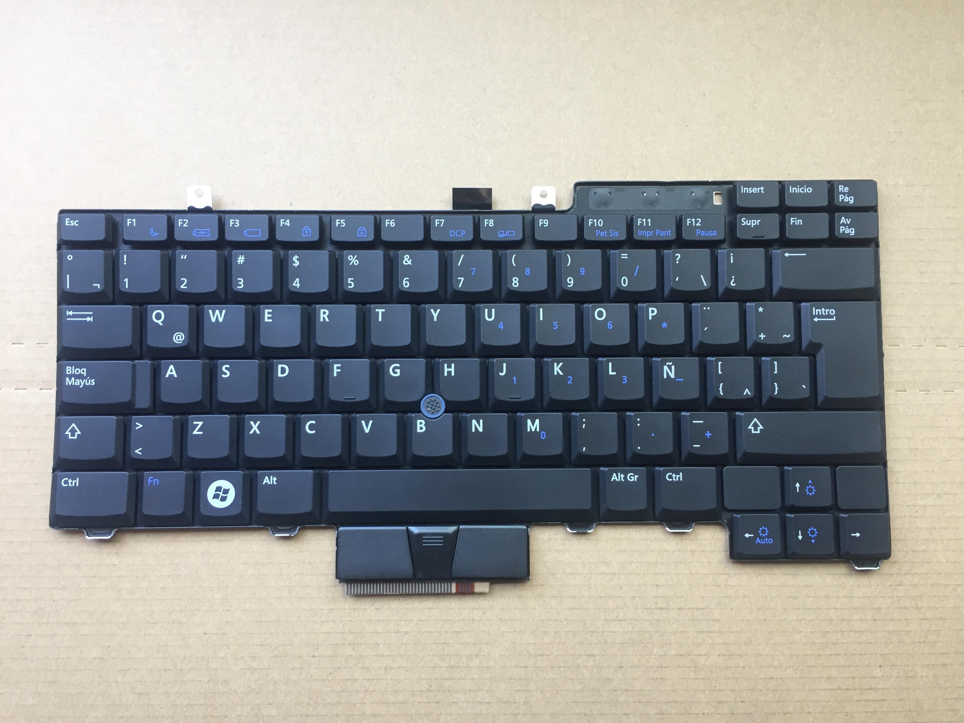 Novo para dell latitude e6400 e6500 precisão m2400 m4400 la sp teclado 0wp247