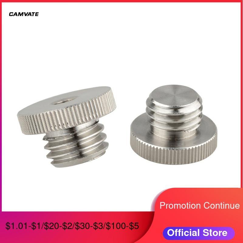 CAMVATE 2pcs Stainess Steel Fixing Screw 5/8