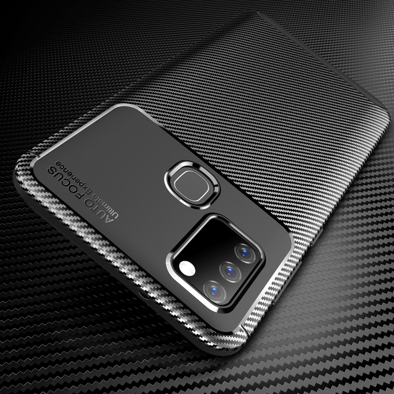 Funda de goma suave ligera delgada para Samsung Galaxy A21S M31 M21 A71 A51 5G A10S A50 A70 S20 S10 A81 A91 funda ajustada antideslizante