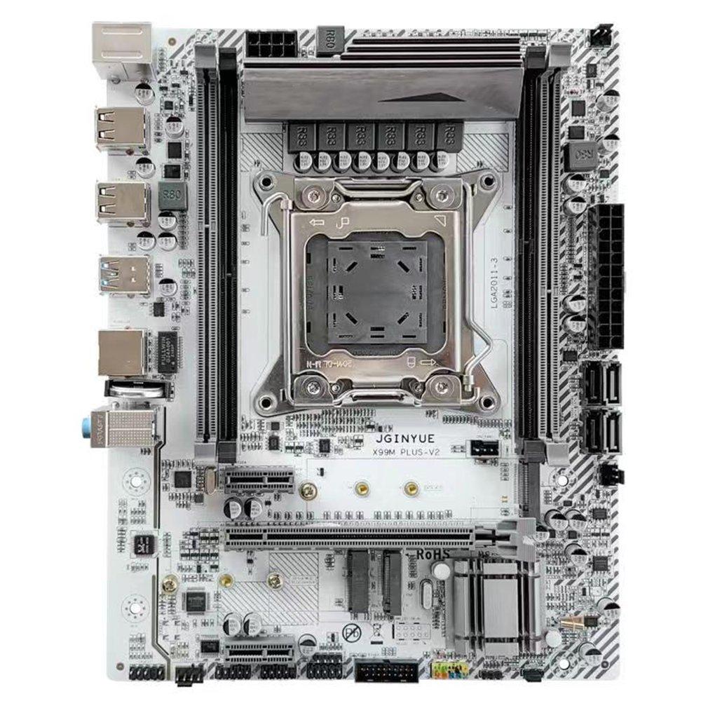 X99 التعدين مينر اللوحة LGA 2011-3With المزدوج M.2 دعم أربعة قناة DDR4 ECC/NON-ECC RAM E5 2678 V3 E5 2620 2650 V3 X99-K9